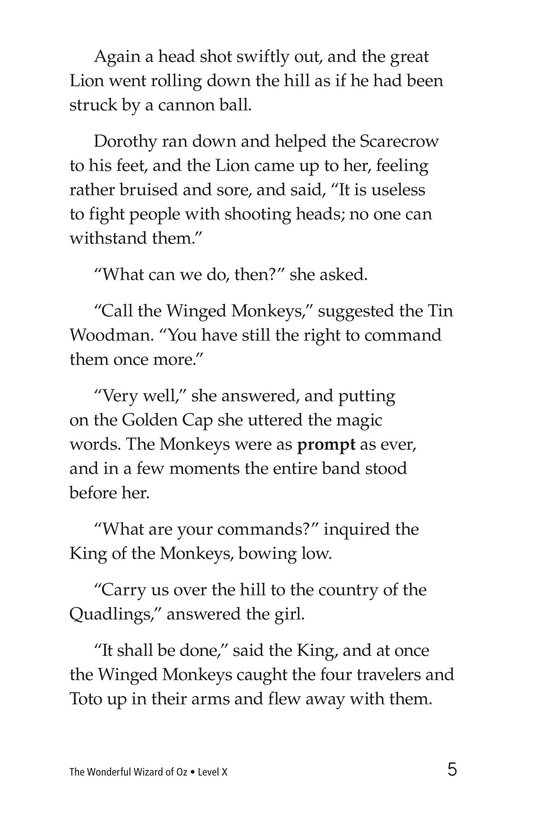 Book Preview For The Wonderful Wizard of Oz (Part 12) Page 5
