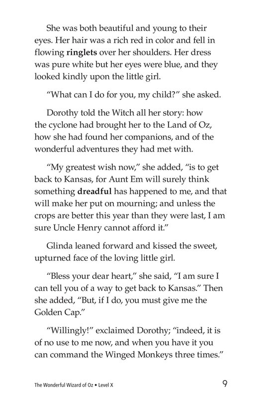 Book Preview For The Wonderful Wizard of Oz (Part 12) Page 9