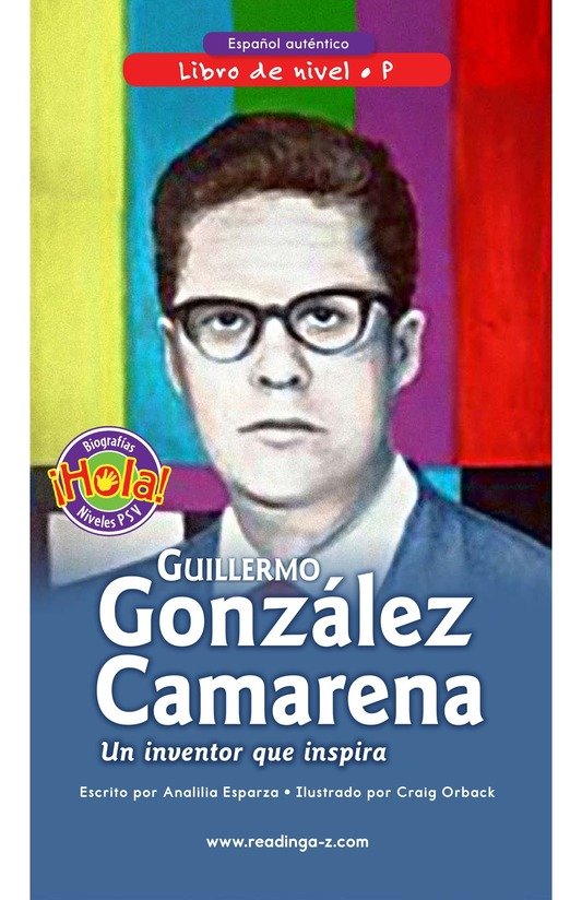 Book Preview For Guillermo González Camarena, un inventor que inspira Page 0