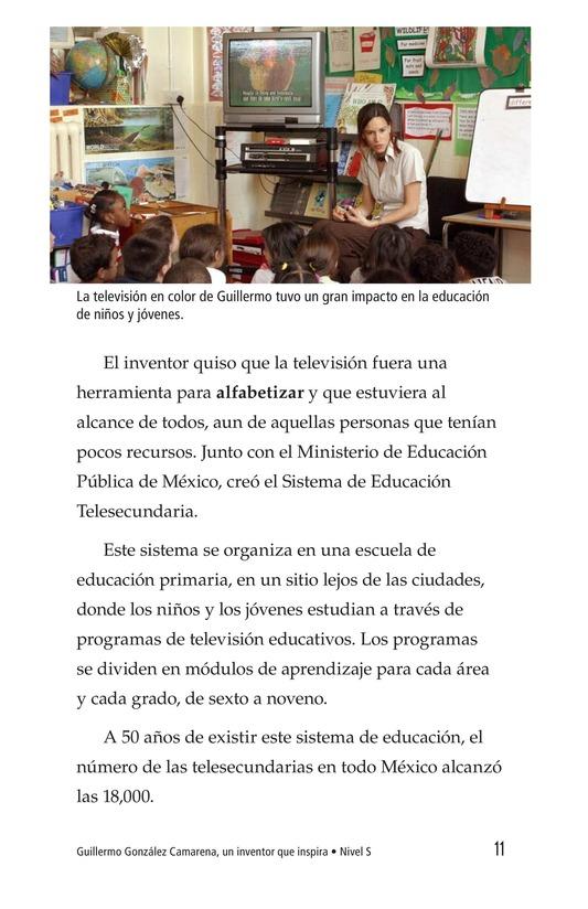 Book Preview For Guillermo González Camarena, un inventor que inspira Page 11