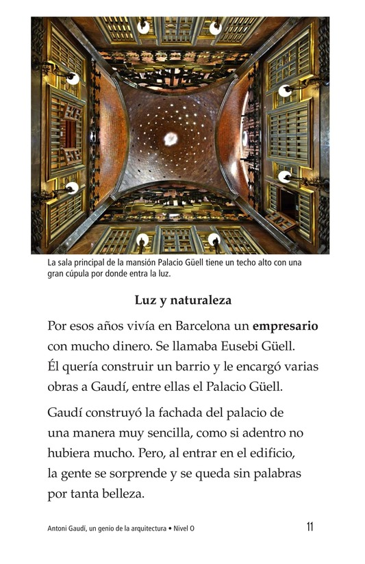 Book Preview For Antoni Gaudí, un genio de la arquitectura Page 11