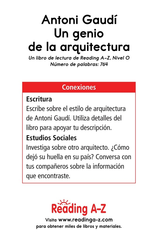 Book Preview For Antoni Gaudí, un genio de la arquitectura Page 17