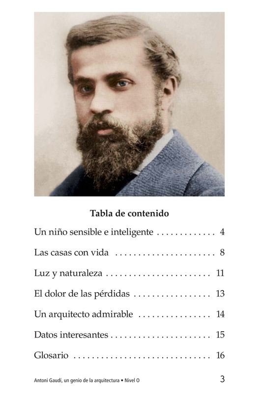 Book Preview For Antoni Gaudí, un genio de la arquitectura Page 3