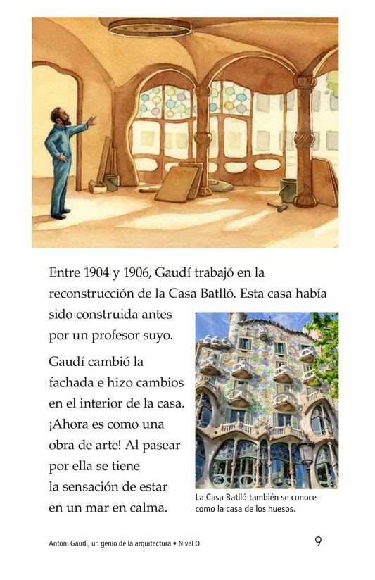 Book Preview For Antoni Gaudí, un genio de la arquitectura Page 9