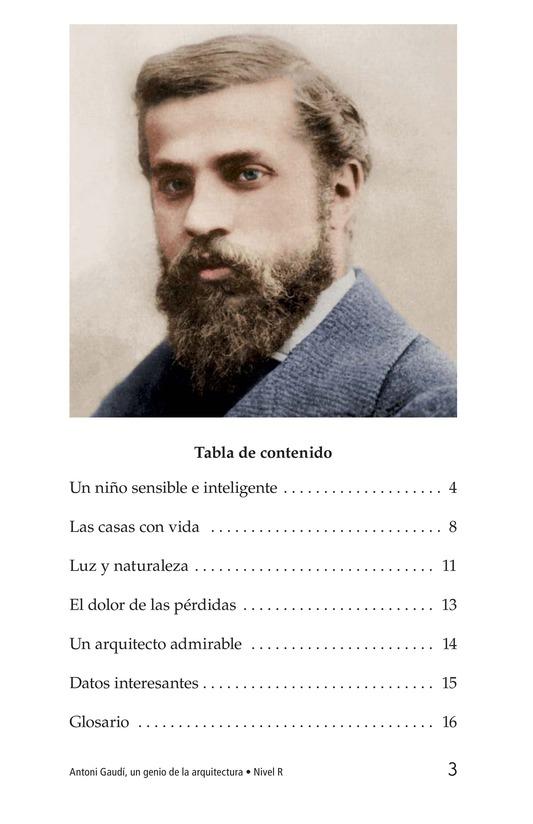 Book Preview For Antoni Gaudí, un genio de la arquitectura Page 3