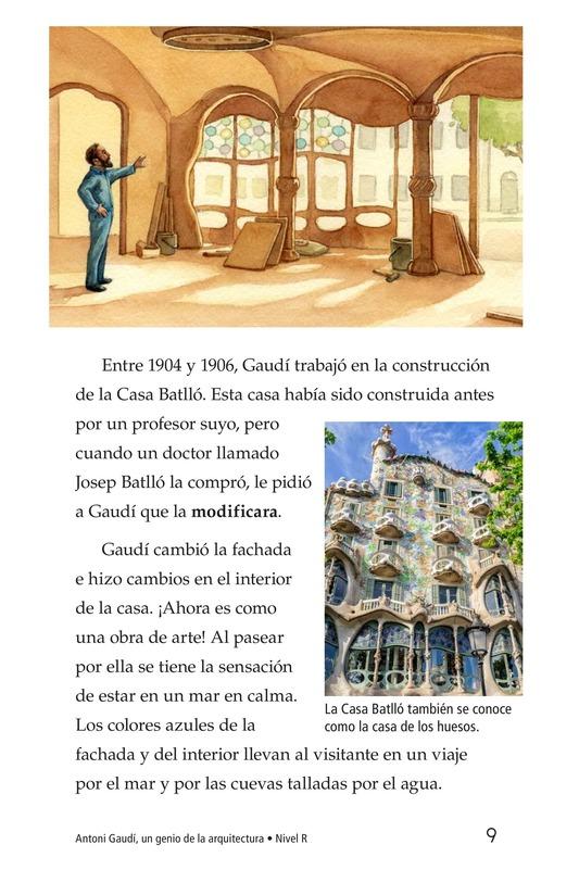 Book Preview For Antoni Gaudí, un genio de la arquitectura Page 9