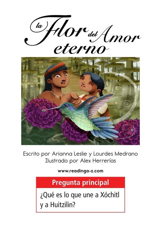 Book Preview For La flor del amor eterno Page 1