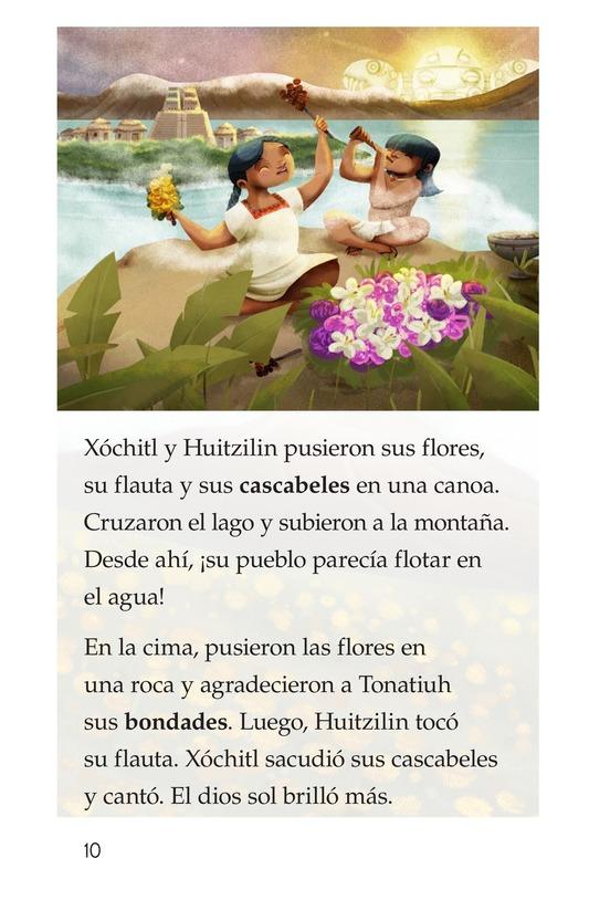 Book Preview For La flor del amor eterno Page 10