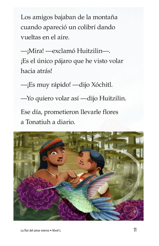 Book Preview For La flor del amor eterno Page 11