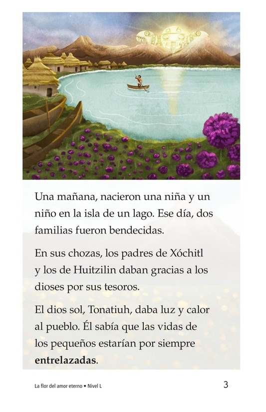 Book Preview For La flor del amor eterno Page 3