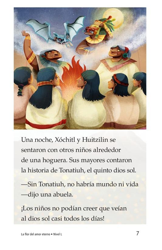 Book Preview For La flor del amor eterno Page 7
