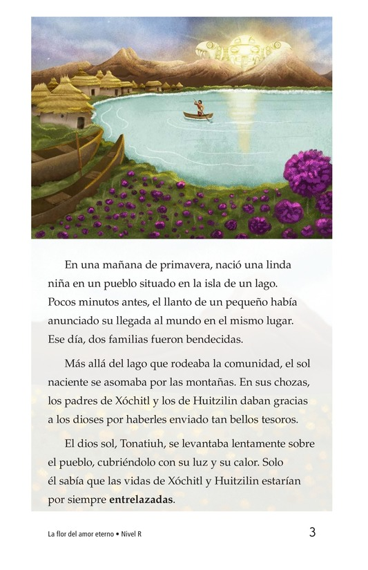 Book Preview For La flor del amor eterno Page 3