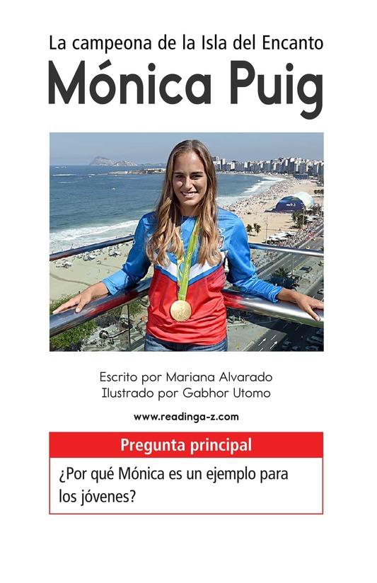 Book Preview For La campeona de la Isla del Encanto, Mónica Puig Page 1