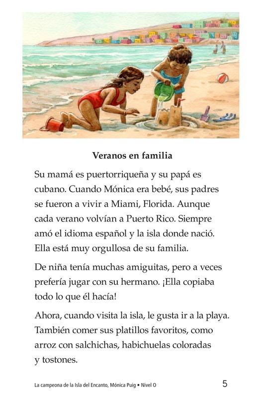 Book Preview For La campeona de la Isla del Encanto, Mónica Puig Page 5