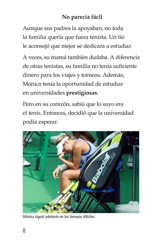 Book Preview For La campeona de la Isla del Encanto, Mónica Puig Page 8