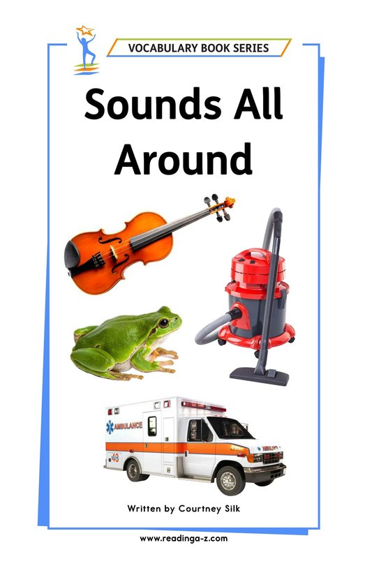 Book Preview For Sounds All Around Page 1