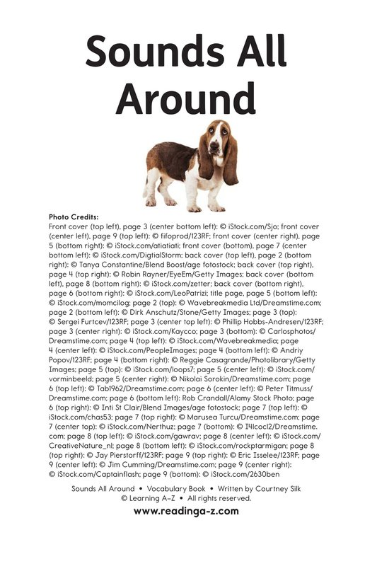 Book Preview For Sounds All Around Page 11