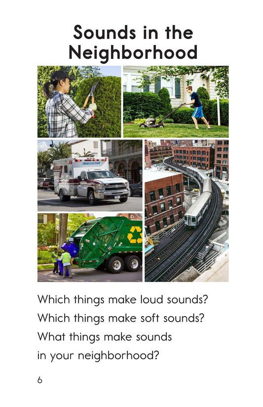 Book Preview For Sounds All Around Page 6