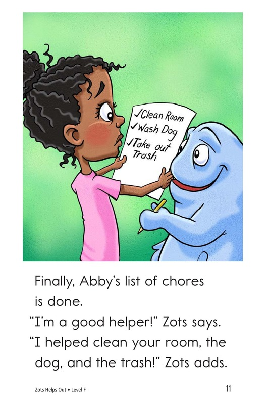 Book Preview For Zots Helps Out Page 11