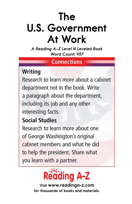 Book Preview For The U.S. Government At Work Page 17