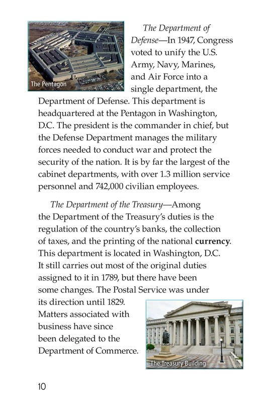 Book Preview For The U.S. Government At Work Page 10