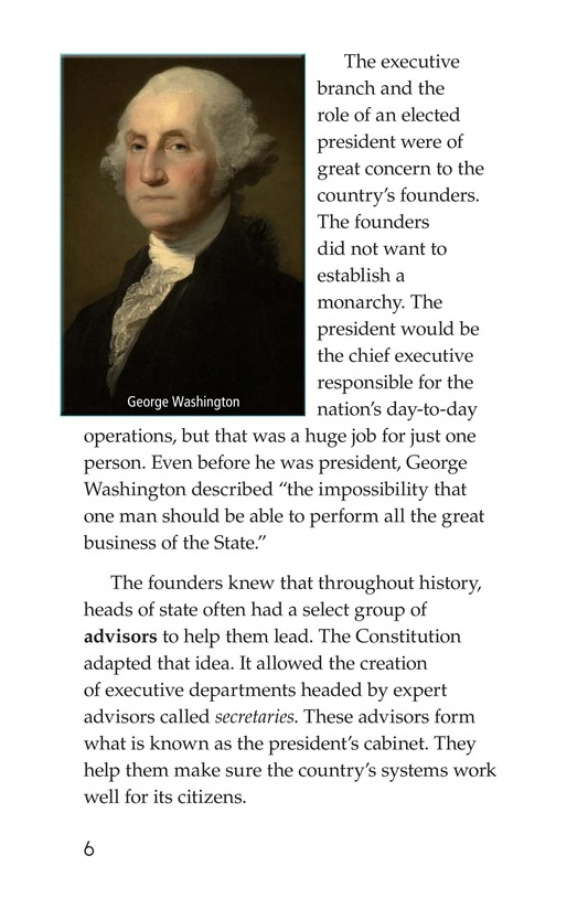 Book Preview For The U.S. Government At Work Page 6