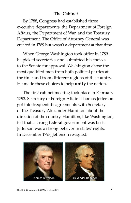 Book Preview For The U.S. Government At Work Page 7