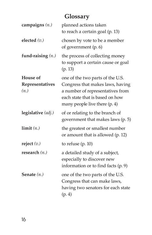 Book Preview For The Legislative Branch Page 16