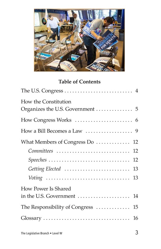 Book Preview For The Legislative Branch Page 3