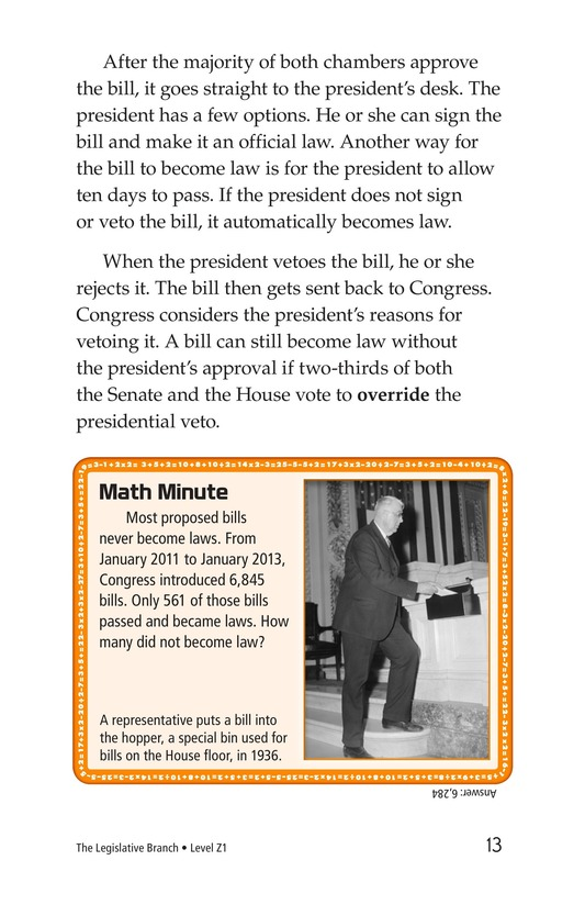 Book Preview For The Legislative Branch Page 13