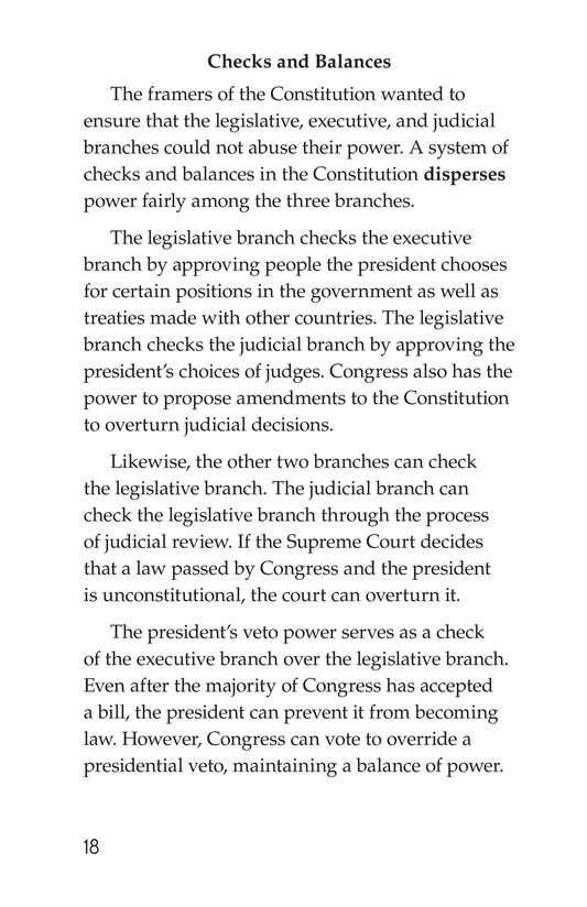 Book Preview For The Legislative Branch Page 18