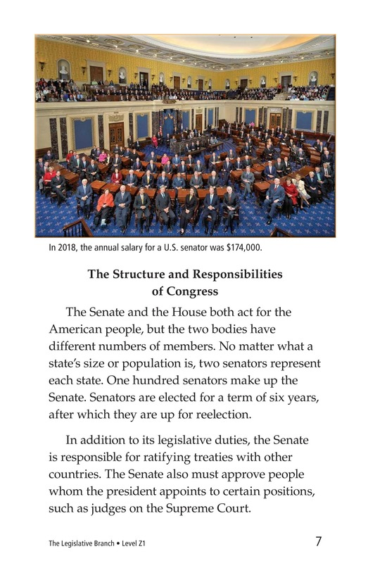 Book Preview For The Legislative Branch Page 7