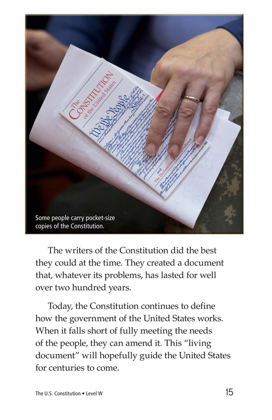 Book Preview For The U.S. Constitution Page 15