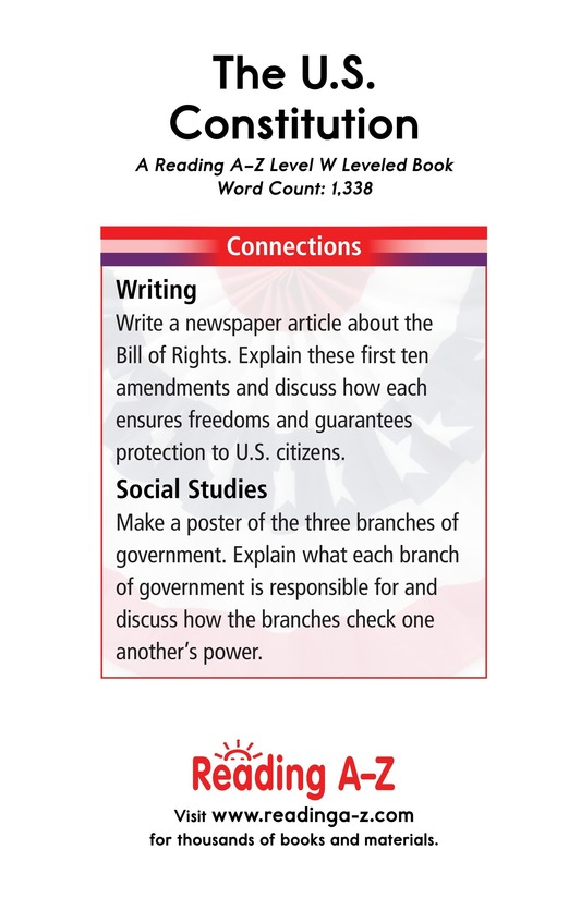 Book Preview For The U.S. Constitution Page 17