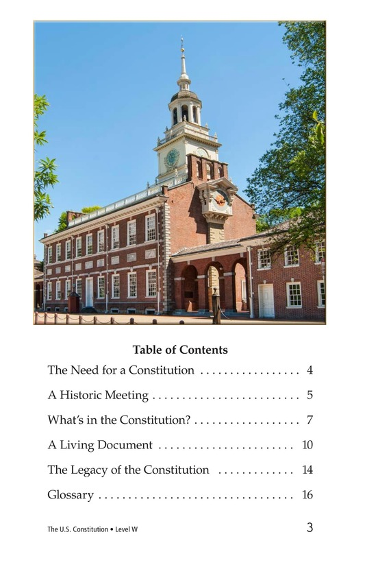 Book Preview For The U.S. Constitution Page 3