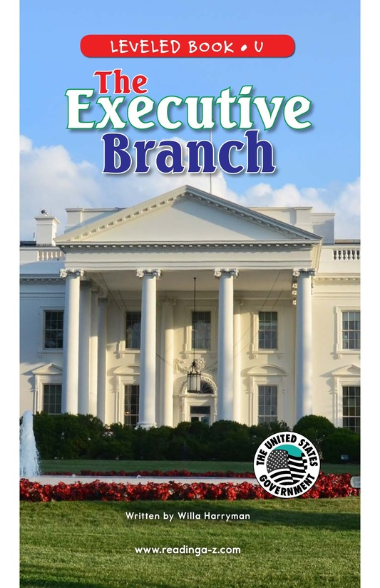 Book Preview For The Executive Branch Page 0