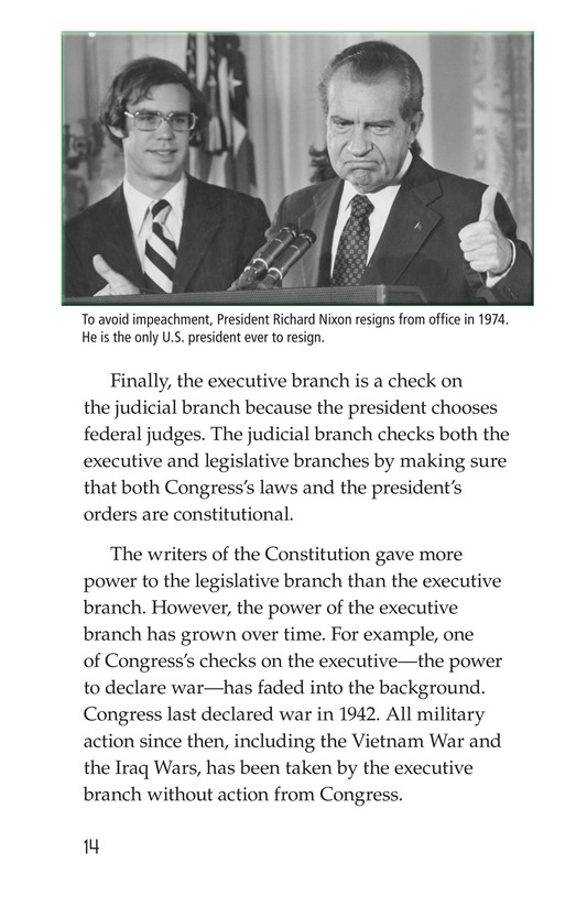 Book Preview For The Executive Branch Page 14