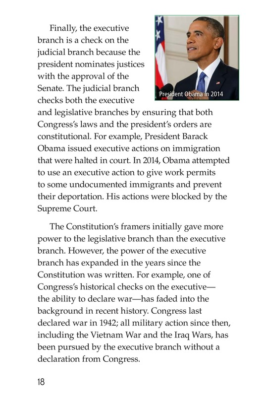 Book Preview For The Executive Branch Page 18