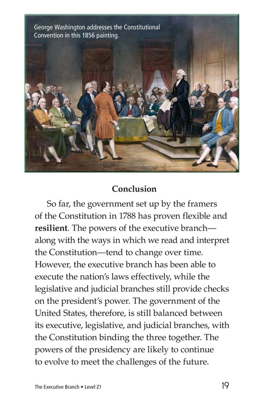 Book Preview For The Executive Branch Page 19