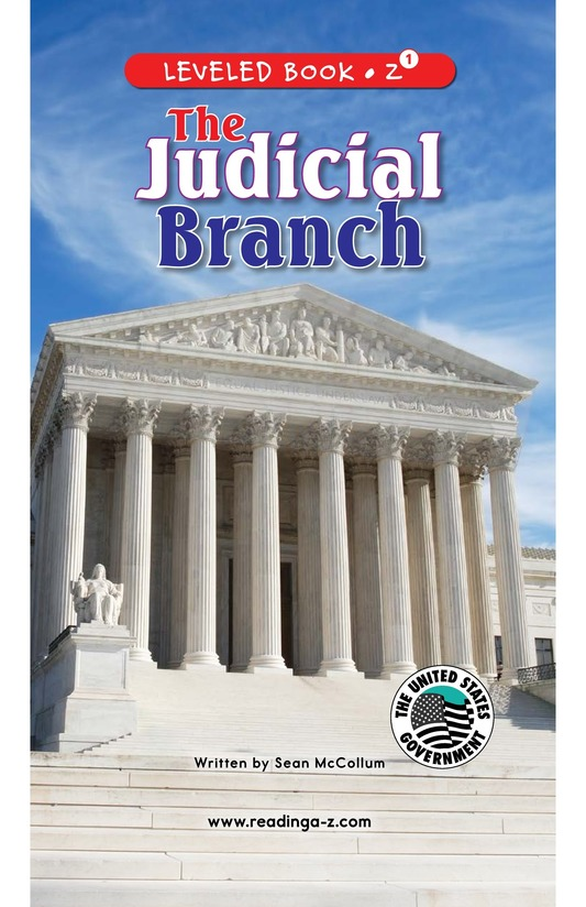 Book Preview For The Judicial Branch Page 0