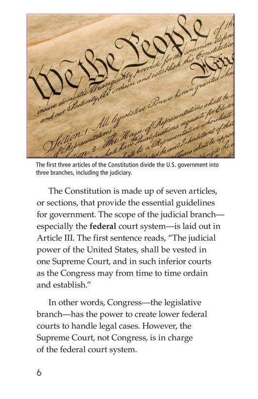 Book Preview For The Judicial Branch Page 6