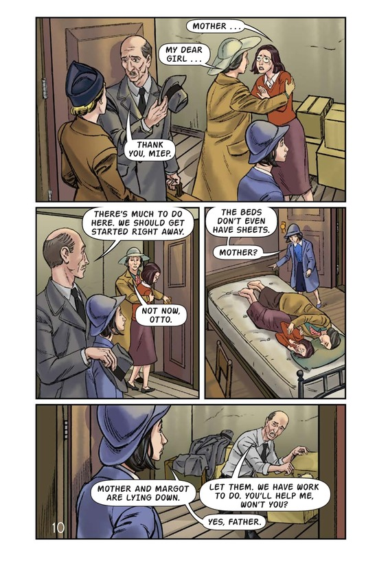 Book Preview For The Frank Family: Into the Annex Page 11