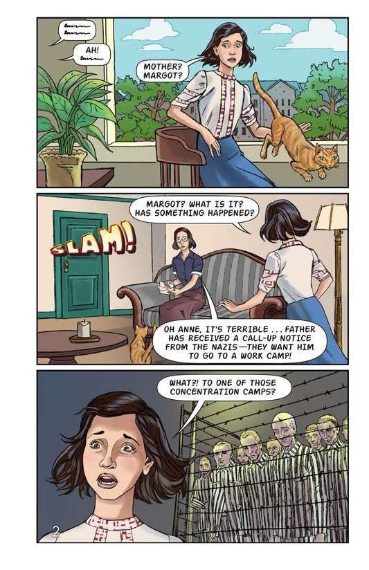 Book Preview For The Frank Family: Into the Annex Page 3