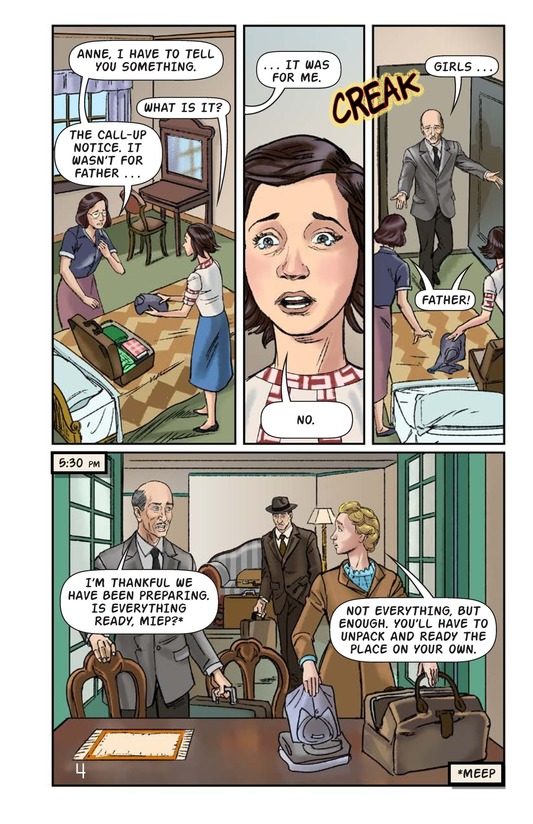 Book Preview For The Frank Family: Into the Annex Page 5