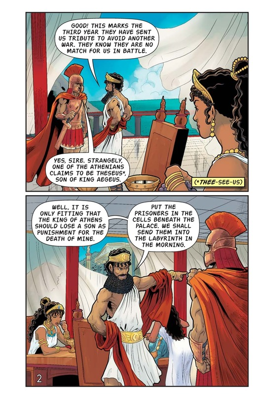 Book Preview For The Minotaur and the Maze Page 3