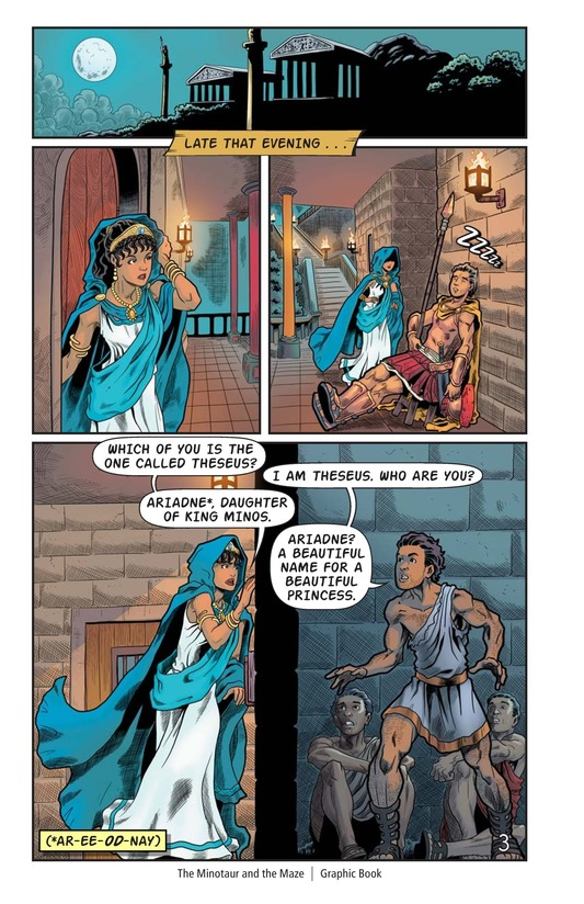 Book Preview For The Minotaur and the Maze Page 4