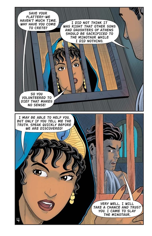 Book Preview For The Minotaur and the Maze Page 5