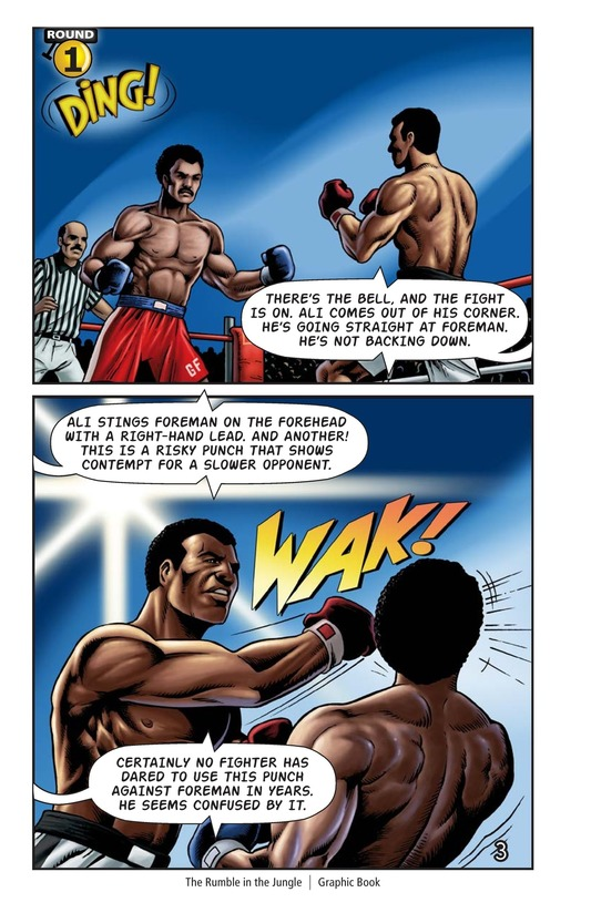 Book Preview For The Rumble in the Jungle Page 4