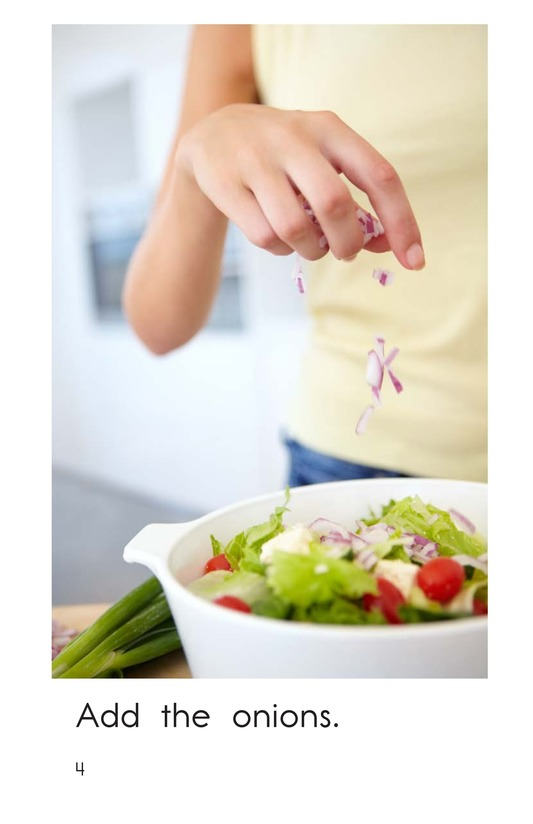 Book Preview For Make a Salad Page 4