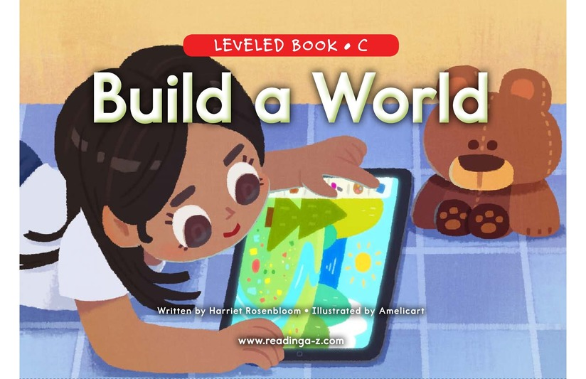 Book Preview For Build a World Page 0